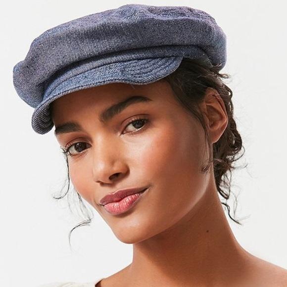20f8f0c026901 Brixton Accessories - Brixton Fiddler Unstructured Denim Fisherman Hat